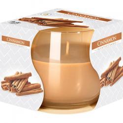 Bispol świeca zapachowa w szkle Cynamon