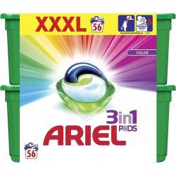 Ariel 3w1 kapsułki do kolorów 2x28 sztuk