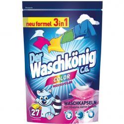 Der Waschkonig kapsułki do prania a'27 color