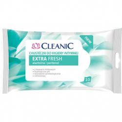 Cleanic Chusteczki do higieny intymnej 10 sztuk Extra Fresh