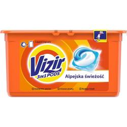 Vizir kapsułki do prania 28 sztuk Alpine Fresh