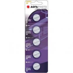 AgfaPhoto bateria Lithium CR 2032 3V 5 sztuk