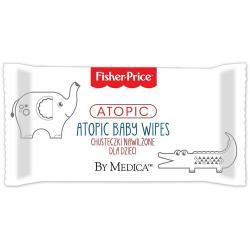 Fisher Price Atopic chusteczki nawilżane dla dzieci 72 sztuki