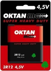 Oktan baterie cynkowe 3R12 płaska 4,5V 1szt.