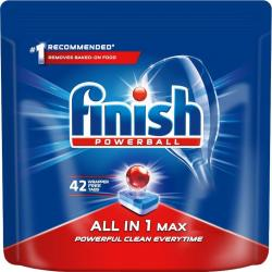 Finish All In 1 Max tabletki do zmywarek 42 sztuki Regular