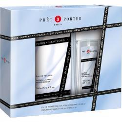 Pret-a-Porter Zestaw woda toaletowa 100ml + dezodorant perfumowany 75ml