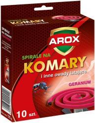 Arox spirale na komary geranium 10szt