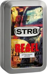 STR8 płyn po goleniu Rebel 50ml w ozdobnej puszce