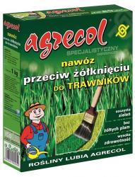 Agrecol nawóz do trawników przeciw żółknięciu 1kg