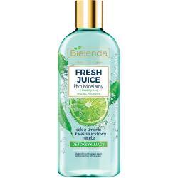 Bielenda Fresh Juice płyn micelarny detoksykujący 500ml Limonka