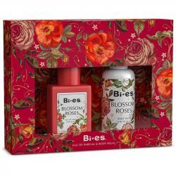 Bi-es zestaw Blossom Roses (EDT 100ml + balsam 75ml)