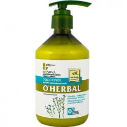 O Herbal odżywka do włosów 500ml Len (włosy suche)