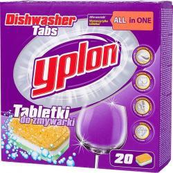 Yplon tabletki do zmywarek All In1 20 sztuk