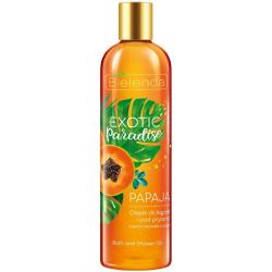 Bielenda Exotic Paradise olejek do kąpieli 400ml Papaja