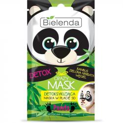 Bielenda Crazy Mask Maska detoksykująca w płacie Panda