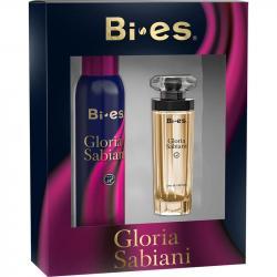 Bi-es zestaw Gloria Sabiani woda perfumowana + dezodorant