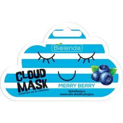 Bielenda Cloud Mask bąbelkująca maseczka detoksykująca Merry Berry