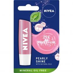Nivea pomadka ochronna Pearly Shine