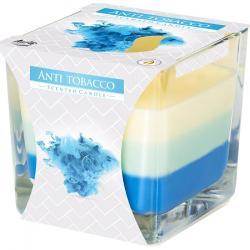 Bispol świeca zapachowa trójkolorowa Antytabak
