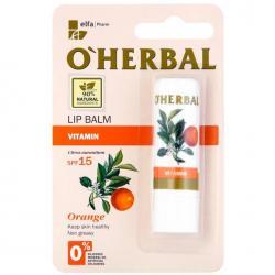 O Herbal pomadka do ust witaminowa 4.8g Orange