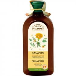 Green Pharmacy szampon do włosów 350ml Nagietek