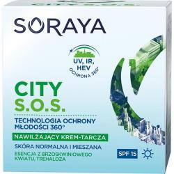 Soraya City S.O.S krem nawilżający na dzień skóra normalna i mieszana 50ml