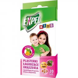 Expel Kids plasterki łagodzące ukąszenia 20 sztuk