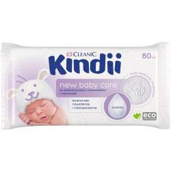 Cleanic Kindii Chusteczki dla dzieci i niemowląt 60 sztuk Care