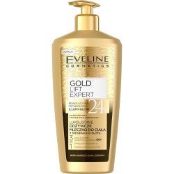 Eveline mleczko do ciała z drobinkami złota 350ml