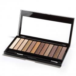 Revolution paleta 12 cieni do powiek Essential Shimmers