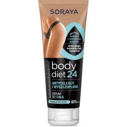 Soraya Body Diet 24 serum do ciała antycellulit i wyszczuplanie 200ml