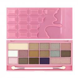 Revolution (I ♡ Makeup) paleta 16 cieni Pink Fizz