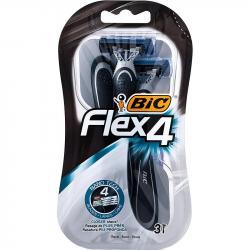 Bic Flex 4 maszynki do golenia 3 sztuki