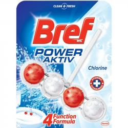 Bref Power Aktiv Chlorine kulki - kostka do WC