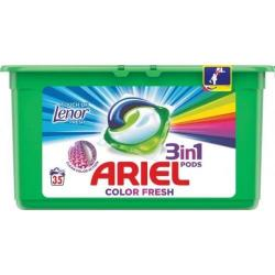 Ariel 3 In 1 Pods kapsułki do prania 35 sztuk Touch Of Lenor Fresh