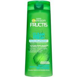 Fructis szampon do włosów 400ml Przeciwłupieżowy Clean Fresh
