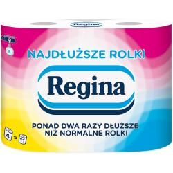 Regina papier 2-warstwowy Najdłuższe Rolki 4 sztuki