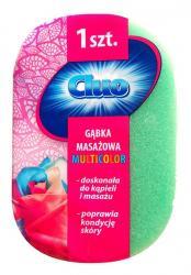 Cluo gąbka kąpielowa do masażu Multicolor