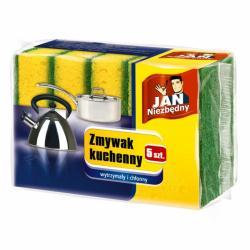 Jan Niezbędny duże zmywaki kuchenne 5 szt. wytrzymałe