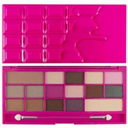 Revolution (I ♡ Makeup) paleta 16 cieni Chocolate Love