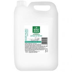Biały Jeleń mydło w płynie kozie mleko 5L