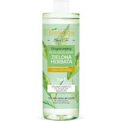 Bielenda Zielona Herbata płyn micelarny oczyszczający 3w1 500ml