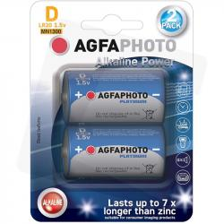 AgfaPhoto baterie alkaliczne D LR20 1,5V 2szt