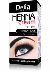 Delia Henna Cream do brwi i rzęs czarna
