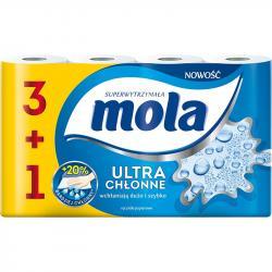 Mola 3+1 ręczniki papierowe Ultra chłonne