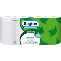 Regina papier 3-warstwowy Aloe Vera 8 sztuk