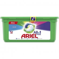 Ariel All In 1 Pods kapsułki do prania 26 sztuk Color