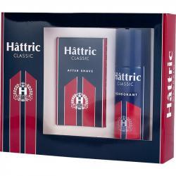 Hattric Zestaw Classic dezodorant + woda po goleniu