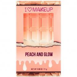 Revolution  Rozświetlacz Peach and glow