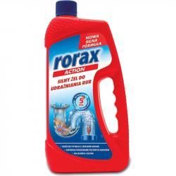 Rorax silny żelowy środek do udrażniania rur 1L